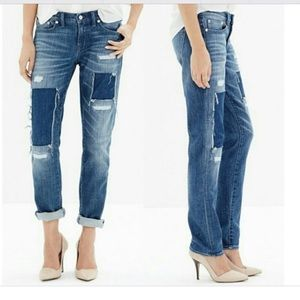 Madewell Patch Slim Boy Jean Sz 26